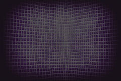 Dark  purple abstract checkered string wave background Stock Image