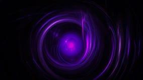 Dark purple background with circles Stock Photo