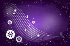 Dark purple background Royalty Free Stock Images