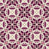 Dark purple floral pattern Royalty Free Stock Photo