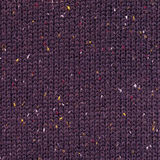 Dark purple woven fabric texture Royalty Free Stock Images