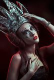 Dark queen Stock Image