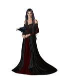Dark Queen Stock Photography
