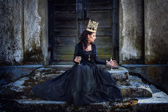 Dark queen Royalty Free Stock Photography