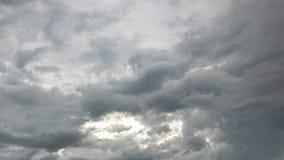 Dark rain clouds on the sky in rainy season.