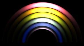 Dark Rainbow Stock Photo