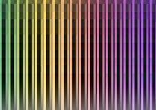 Dark rainbow pixel bar abstract background. Dark rainbow abstract pixel speed background, square layer line, technology geometric background, vector illustration royalty free illustration