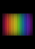 Dark Rainbow Background Stock Image