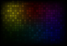 Dark rainbow background Royalty Free Stock Photo