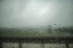 Dark and Rainy Day Outside Stock Photos