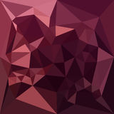 Dark Raspberry Red Abstract Low Polygon Background Stock Photos
