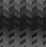 Dark rectangles pattern. Abstract dark grey pattern with light and dark rectangles Stock Photo
