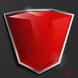 Dark red abstract frame background. Royalty Free Stock Photos