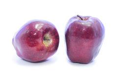 Dark red apple different type Stock Photography