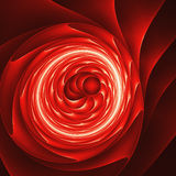 Dark red black hole Stock Images