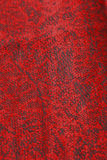 Dark Red and Black Patterned Cloth Stock Image