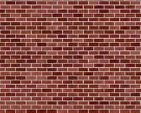 Dark red brick background Stock Photography