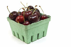 Dark red cherries Royalty Free Stock Photography