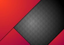 Dark red corporate abstract background Royalty Free Stock Images