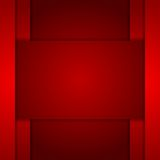 Dark red corporate tech art. Vector background Stock Images