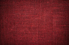 Dark red flax texture Royalty Free Stock Photo