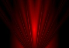 Dark red glow beams abstract background Royalty Free Stock Photo