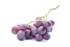 Dark Red grapes healthy fruit Royalty Free Stock Images