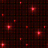 Dark red grid with shining points Royalty Free Stock Images