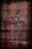 Dark red grunge background Royalty Free Stock Photo