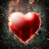 Dark red heart Royalty Free Stock Images