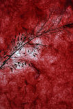 Dark red natural paper background Royalty Free Stock Photos