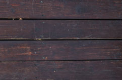 Dark red old wood texture Royalty Free Stock Photo