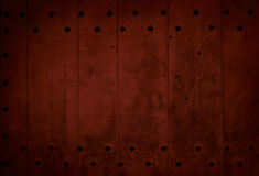 Dark red old wooden plank Royalty Free Stock Photography