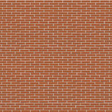 Dark red painted brick wall seamless texture Royalty Free Stock Images