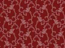 Dark red pattern backgroud Stock Photography
