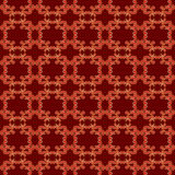Dark red pattern with golden elements - vector Royalty Free Stock Images