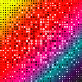 Dark red purple blue color Light Abstract pixels Technology background  Stock Photos