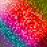 Dark red purple blue color Light Abstract pixels Technology background for computer graphic website internet. circuit Stock Photo