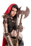 Dark Red Riding hood Royalty Free Stock Image