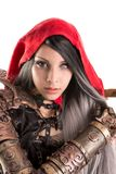 Dark Red Riding hood Royalty Free Stock Photo
