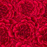 Dark Red Roses heart seamless Stock Photos