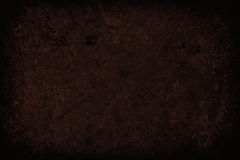 Dark red scratched grunge wall background or texture Stock Images