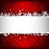 Dark red snow mesh background with textarea Stock Photos