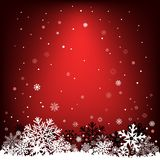 Dark red snow mesh background. The white snow on the dark red mesh background, winter theme. No transparent objects Stock Image