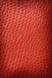 Dark red spotted leather close up Stock Photo