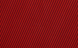 Dark and red strips on the fabric Stock Images