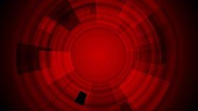 Dark red tech gear video animation stock video footage