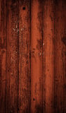 Dark red timber wooden background Stock Photography