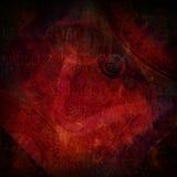 Dark red vintage background Stock Images