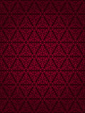 Dark red vintage wallpaper design Stock Photography